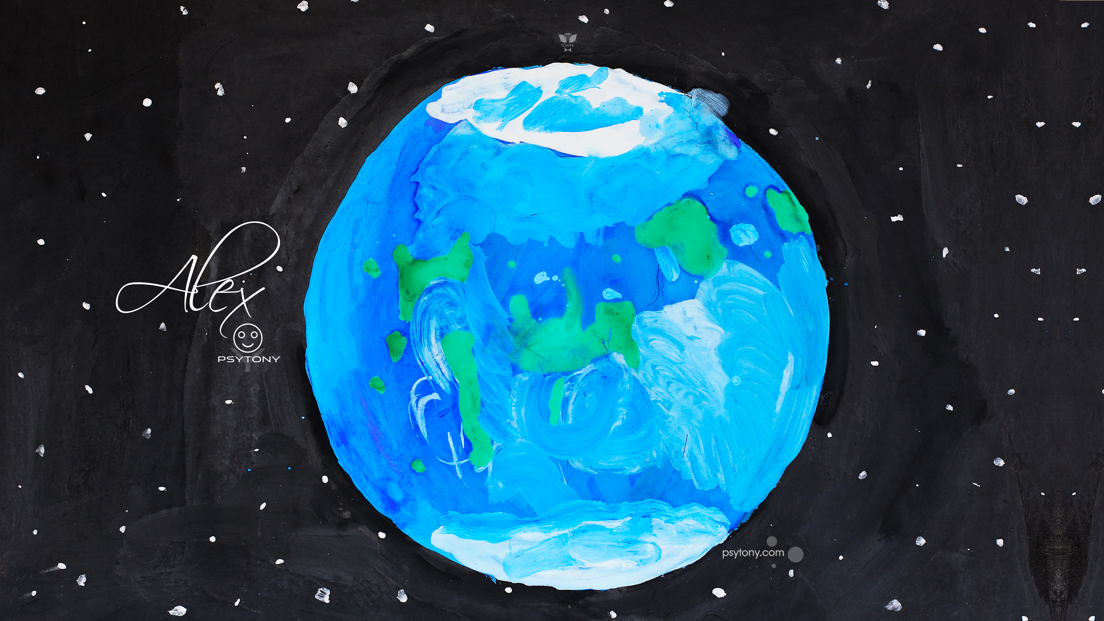 Alex-Soul-Boy-Planet-Earth-Life-World-Celebrity-Space-Stars-Gouache-Art-2019-Multicolors-4K-Wallpapers-by-Psychologist-Tony-Kokhan-www.psytony.com-image