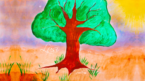 Lusi-Soul-Girl-Tree-of-Life-and-Money-Nature-Sun-Psy-TonyPsy-Gouache-Picture-Drawing-Paints-Art-2019-Multicolors-4K-Wallpapers-by-Psychologist-Tony-Kokhan-www.psytony.com-image