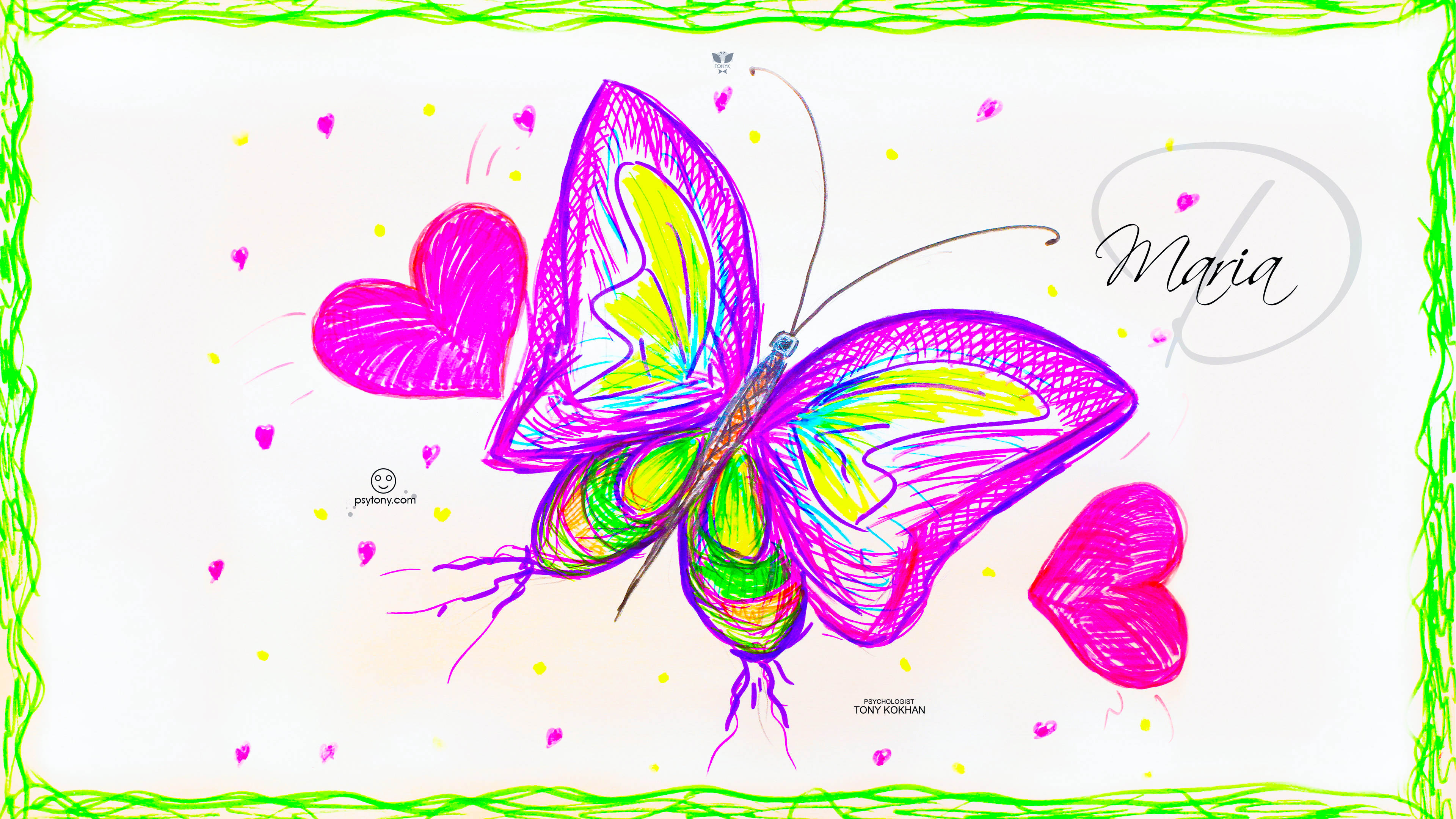 Maria-Soul-Girl-Butterfly-Super-Fly-Love-Heart-Art-Style-Picture-Drawing-With-Markers-2019-Multicolors-4K-Wallpapers-by-Psychologist-Tony-Kokhan-www.psytony.com-image