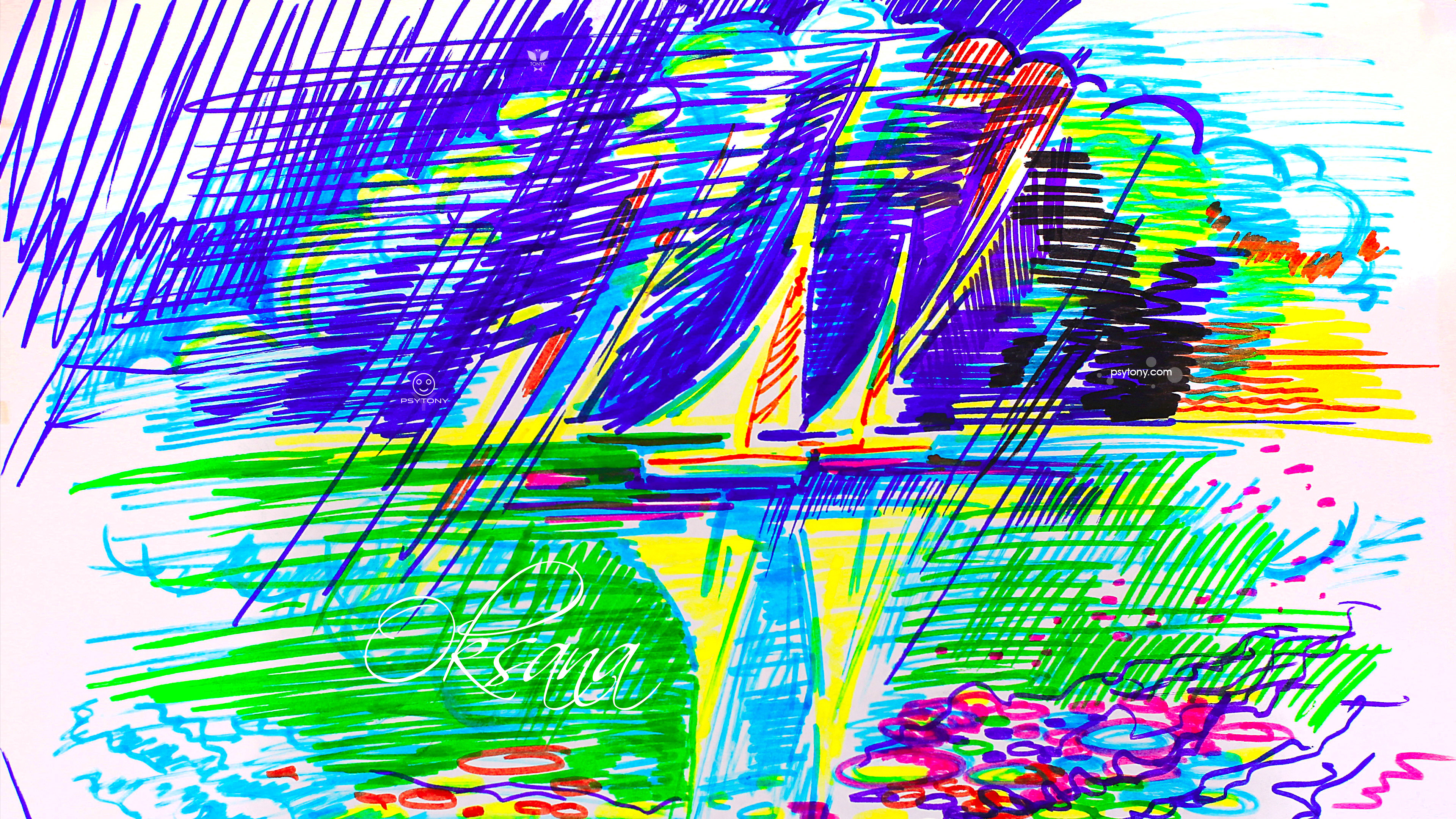 Oksana-Soul-Girl-Super-Sails-Water-Sky-Double-Life-Psy-Picture-Drawing-Paints-Markers-Art-2019-Multicolors-4K-Wallpapers-by-Psychologist-Tony-Kokhan-www.psytony.com-image