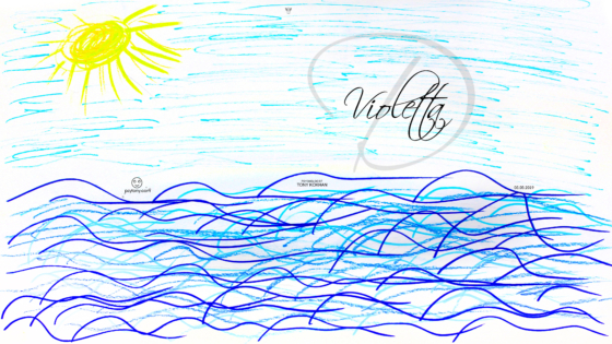 Violetta-Soul-Girl-Sea-Sky-Sun-Art-Picture-Drawing-with-Markers-and-Pastel-2019-Multicolors-4K-Wallpapers-by-Psychologist-Tony-Kokhan-www.psytony.com-image