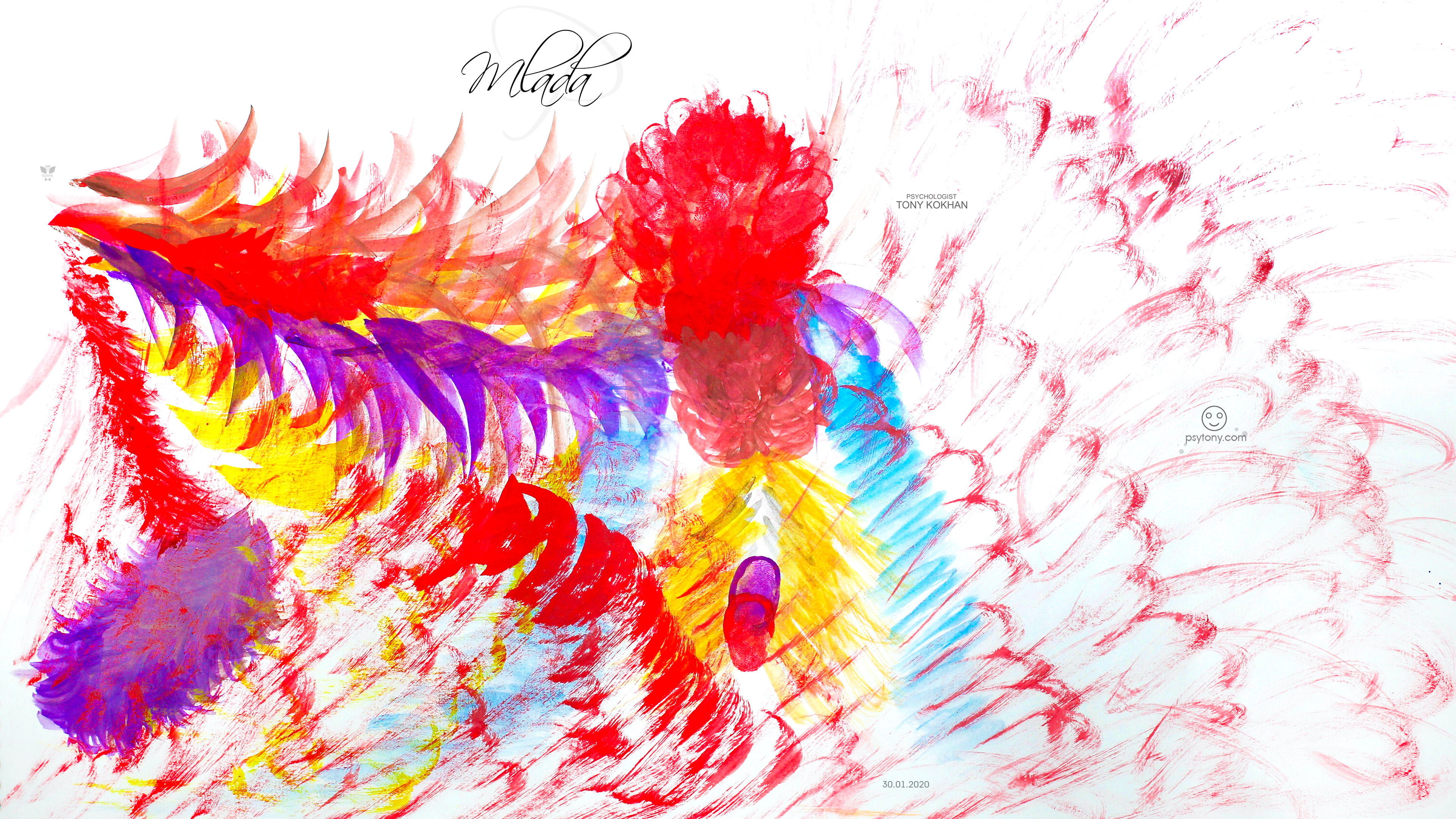 Mlada-Soul-Girl-Centipede-Flowers-Nerves-Rot-Spikes-Fire-Peacock-Tail-Gouache-Picture-Art-2020-Multicolors-4K-Wallpapers-by-Psychologist-Tony-Kokhan-www.psytony.com-image
