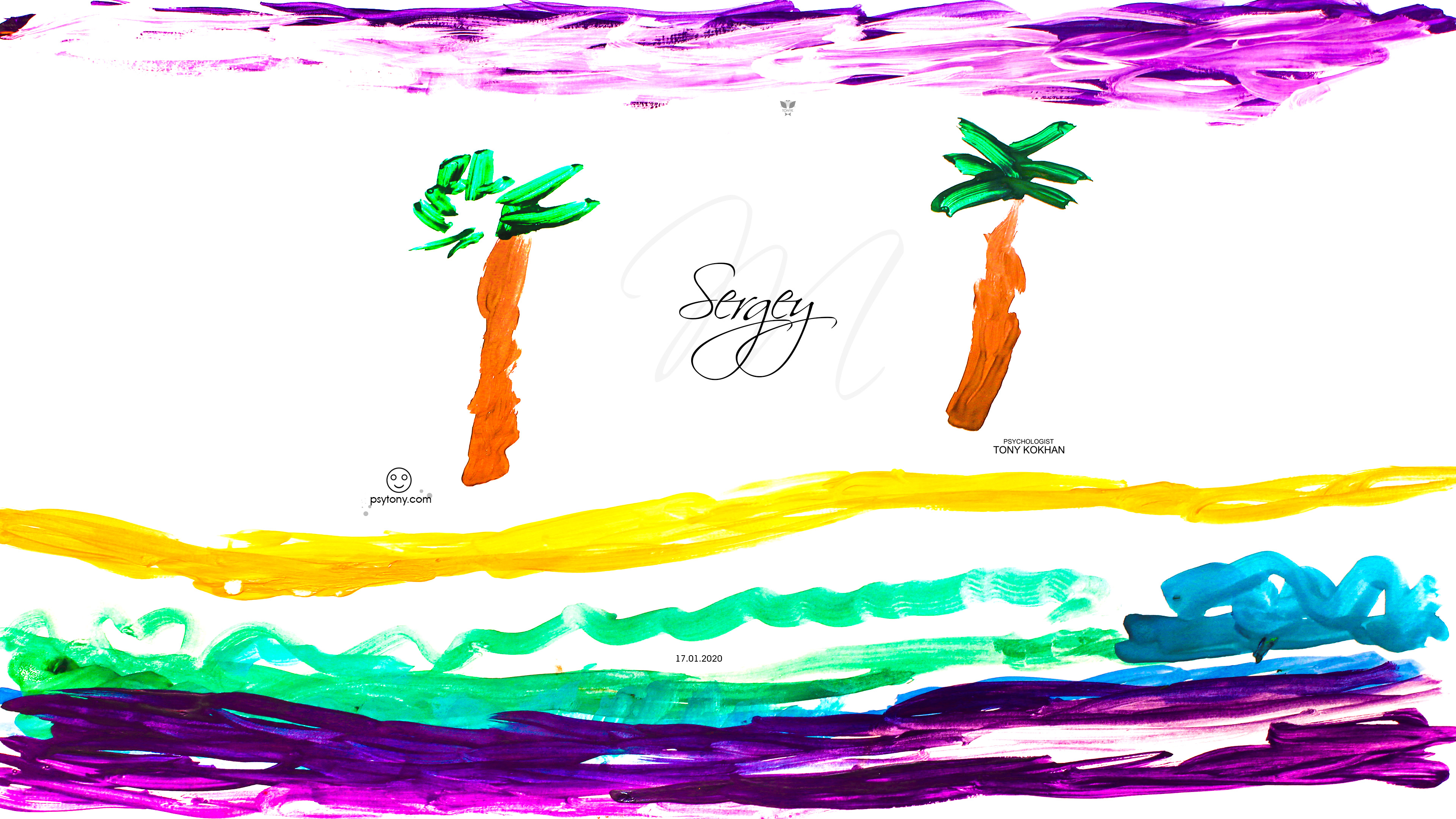 Sergey-Soul-Boy-Nature-Palm-Trees-Sea-Waves-Sky-Sand-Picture-Gouache-Art-2020-Multicolors-4K-Wallpapers-by-Psychologist-Tony-Kokhan-www.psytony.com-image