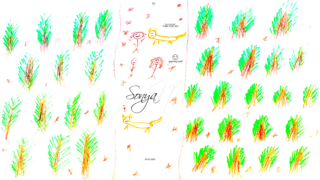Sonya-Soul-Girl-Boy-Cat-Spruce-Forest-Path-Replay-Thoughts-Fixation-Copy-Paste-Experiencing-Situations-Relations-Company-2020-Multicolors-4K-Wallpapers-by-Psychologist-Tony-Kokhan-www.psytony.com-image
