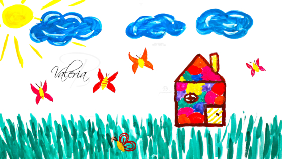 Valeria-Soul-Girl-Bee-Butterfly-Lost-In-The-Grass-Sun-Clouds-God-Home-Art-2020-Multicolors-4K-Wallpapers-by-Psychologist-Tony-Kokhan-www.psytony.com-image